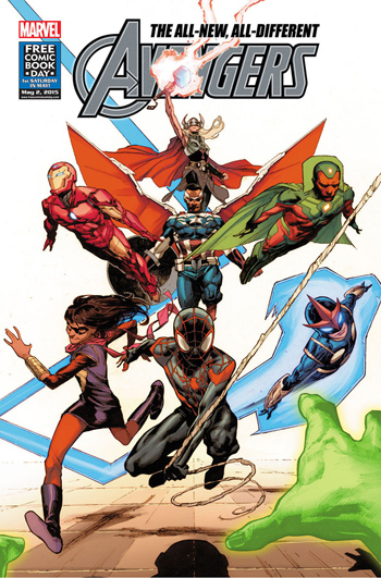 FCBD 2015 Avengers #1