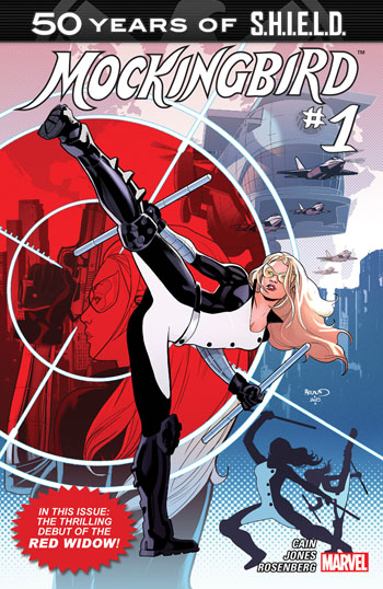50 Years of S.H.I.E.L.D. - Mockingbird #1