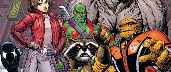 Avant-Première VO: Review Guardians of the Galaxy #1