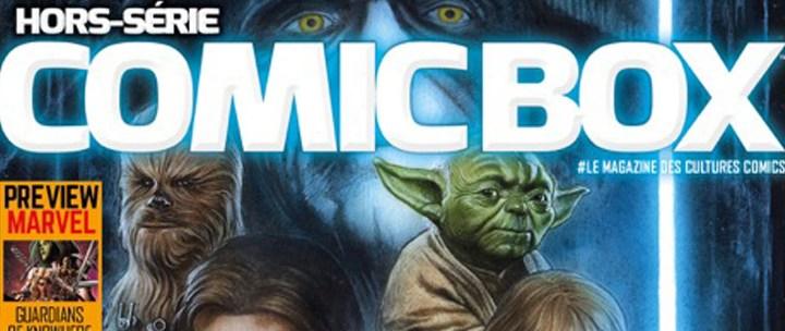 Teaser: Comic Box Hors-Série Spécial Science-Fiction
