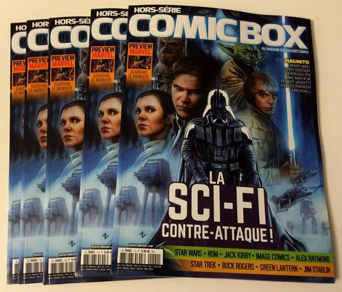 Preview: Comic Box Hors-Série Science-Fiction