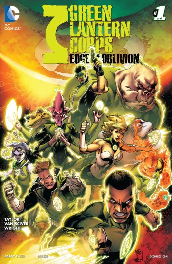 Green Lantern Corps: Edge Of Oblivion #1