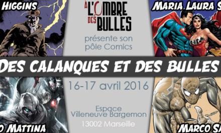 Programme Comics Des Calanques et des Bulles (16 & 17 avril)