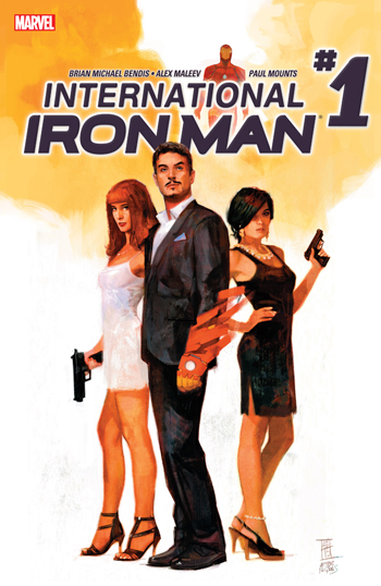Avant-Première VO: Review International Iron Man #1