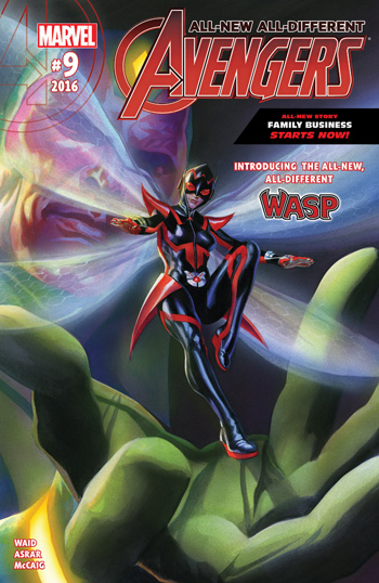 Avant-Première VO: Review All-New All-Different Avengers #9