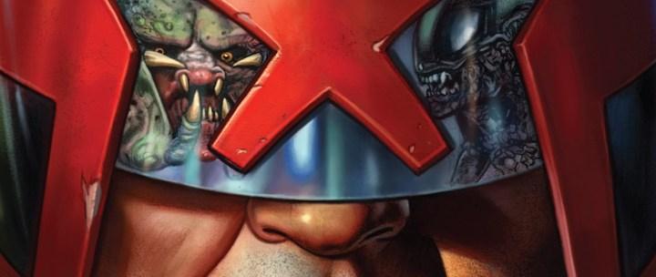 Avant-Première VO: Review Predator vs. Judge Dredd vs. Aliens #1