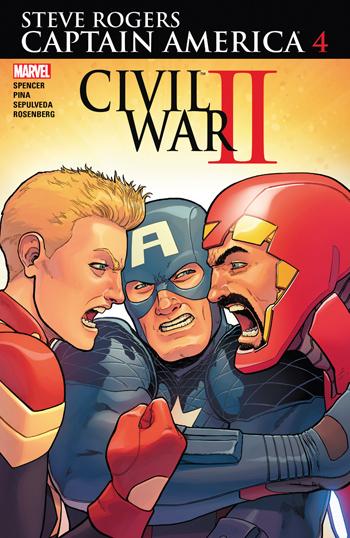 Avant-Première VO: Review Captain America - Steve Rogers #4