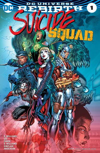 Avant-Première VO: Review Suicide Squad #1