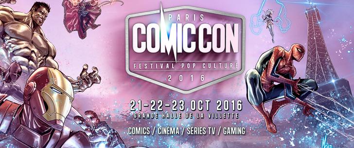 Comic Con Paris 2016, le temps des questions...