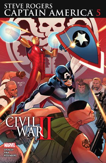 Captain America: Steve Rogers #5