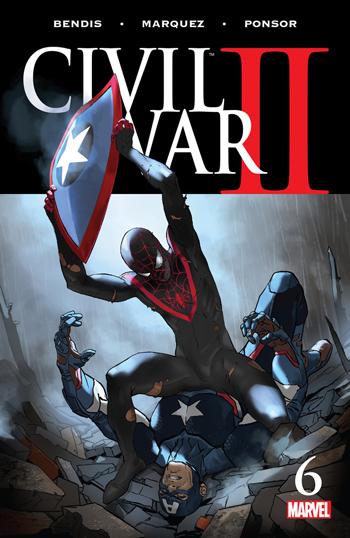 Avant-Première VO: Review Civil War II #6