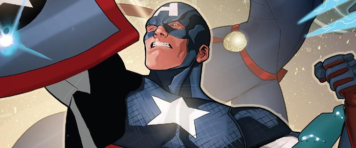 Avant-Première VO: Review Captain America: Steve Rogers #6