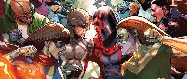 Avant-Première VO: Review Inhumans vs. X-Men #1