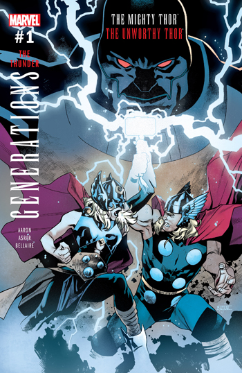 Generations - The Unworthy Thor & The Mighty Thor #1