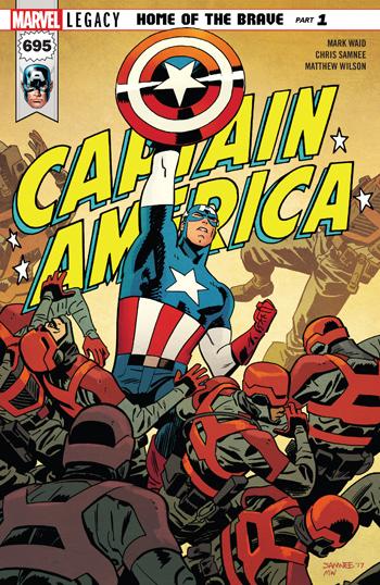 Captain America #695