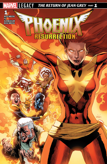 Phoenix Resurrection - The Return of Jean Grey #1