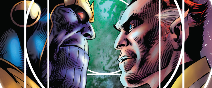 Avant-Première VO: Review Thanos – The Infinity Siblings Graphic Novel