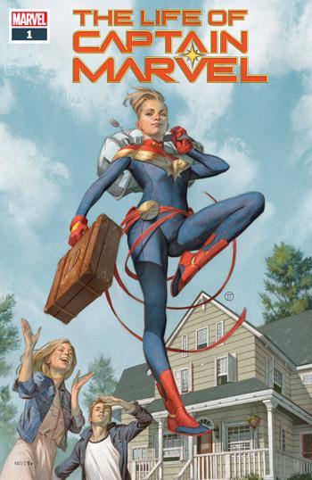 Life Of Captain Marvel #1