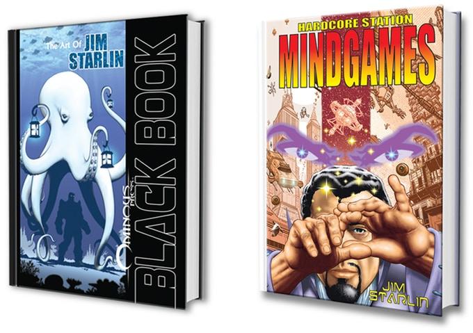 Jim Starlin's Art Book and Illustrated Novella