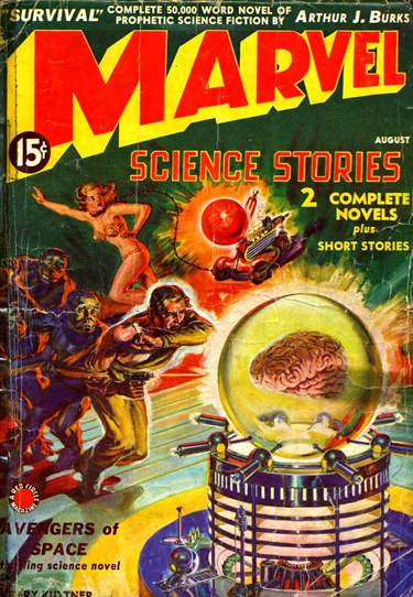 Marvel Science Stories #1