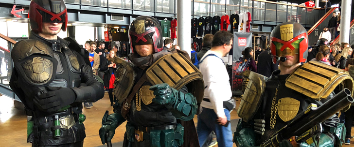 Paris Comic Con 2018 – Les Photos