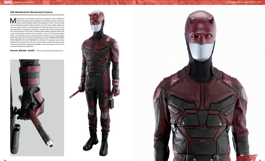 Marvel Television Live Auction