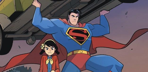 Avant-Première Comics VO: Review Superman Smashes The Klan #1