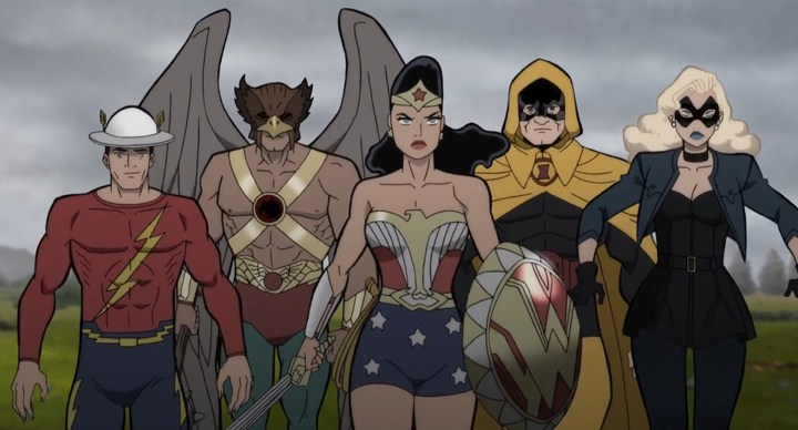 Review: Justice Society: World War II