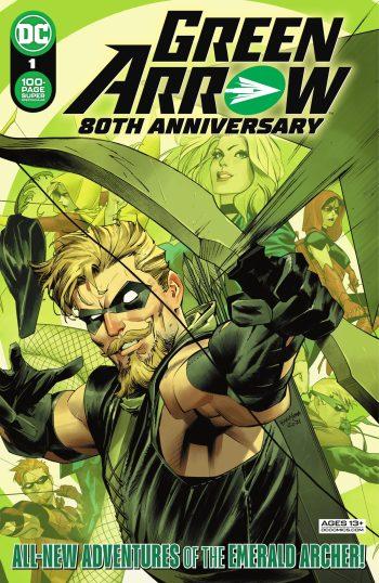 Green Arrow 80th Anniversary #1