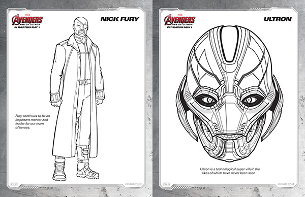 free kids printables marvel 39 s the avengers age of ultron