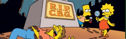 rip bongo 500x157 As their last comic goes on sale today, it's time to say Farewell, Bongo Comics