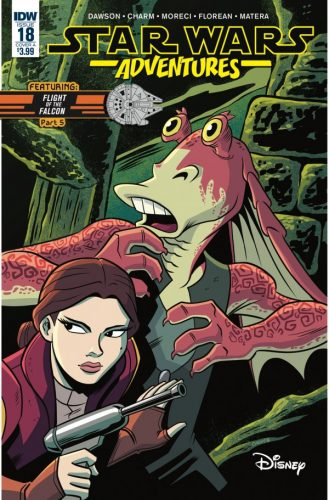 STAR WARS ADVENTURES 18 329x500 Comic Review for week of February 20th, 2019