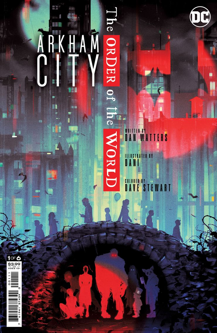 ARKHAM CITY THE ORDER OF THE WORLD 1 A Recent Comic Cover Updates For The Week Ending 2021 07 23