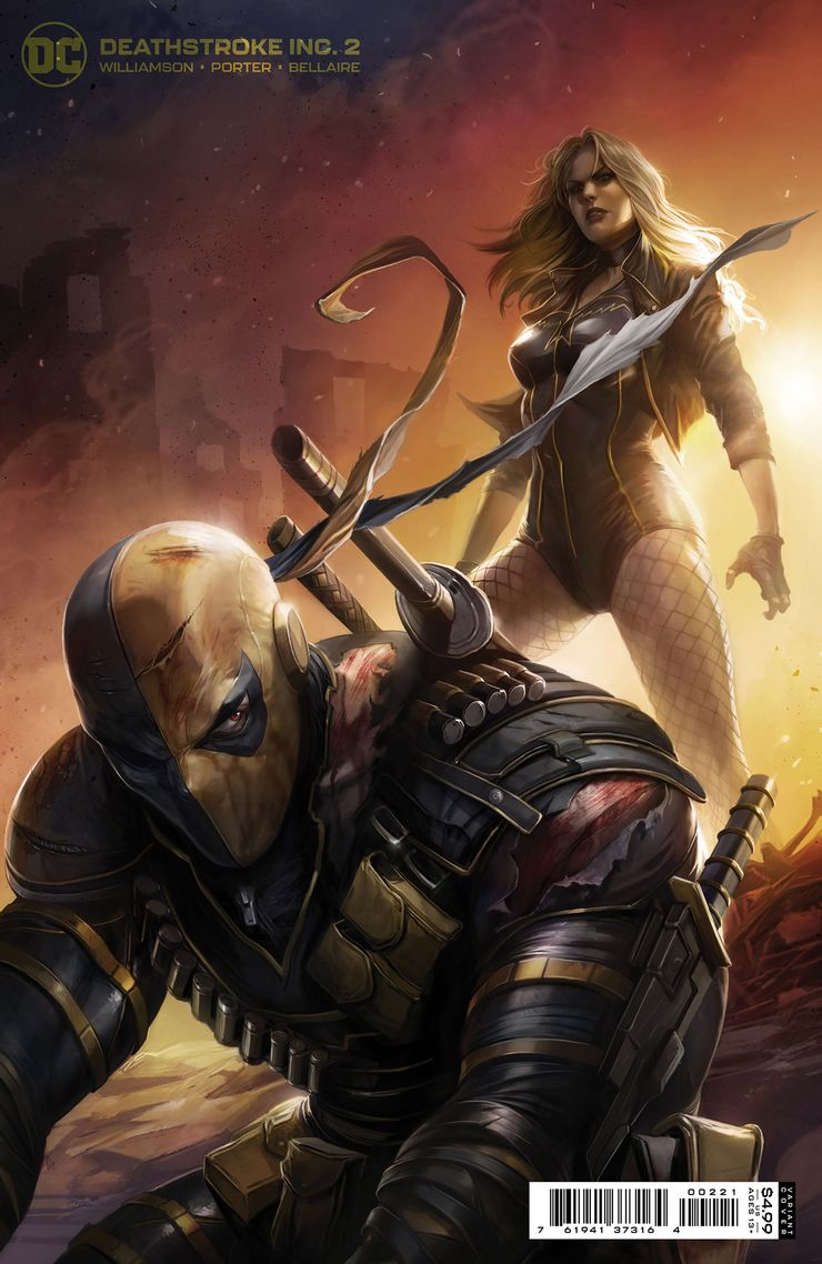 DEATHSTROKE INC. 2 B 1 Recent Comic Cover Updates For The Week Ending 2021 07 23