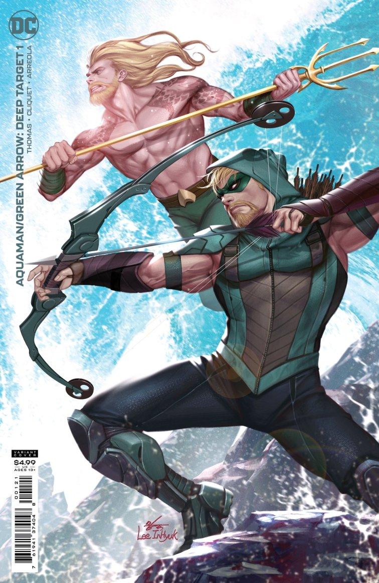Deep Target 1 B Recent Comic Cover Updates For The Week Ending 2021 07 16