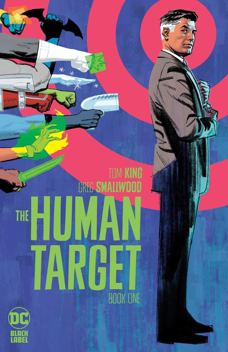 Human Target 1 A Recent Comic Cover Updates For The Week Ending 2021 07 16