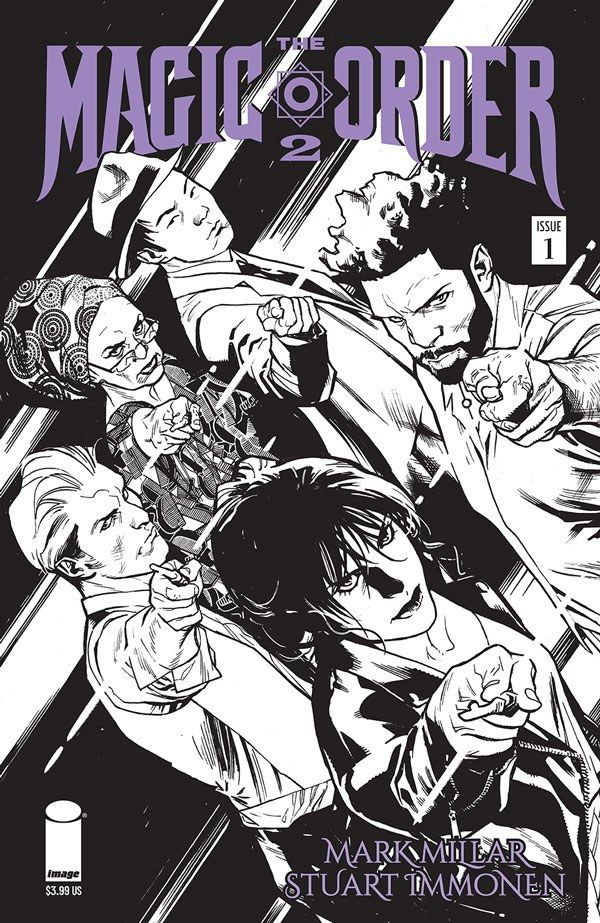 Magic Order 2 1 B Recent Comic Cover Updates For The Week Ending 2021 07 23