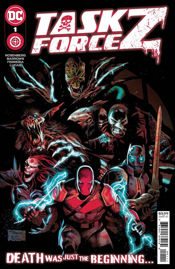 TASK FORCE Z 1 A Recent Comic Cover Updates For The Week Ending 2021 07 23