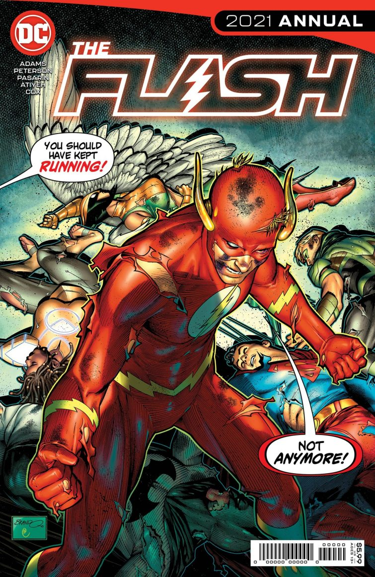 The Flash 2021 Annual 1 spoilers 0 1 scaled 1 Recent Comic Cover Updates For The Week Ending 2021 07 16