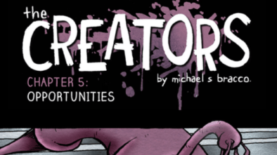 The Creators Chapter 5 - Cover