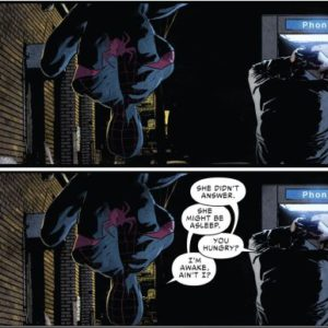 Spider-Man 15 - funny moment between Miles and Jefferson