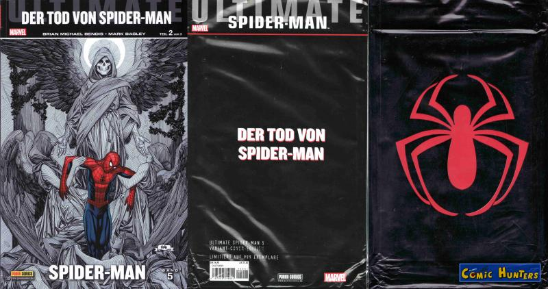 Ultimate Spider-Man #5: Der Tod von Spider-Man (Teil 2) (Variant Cover-Edition B)