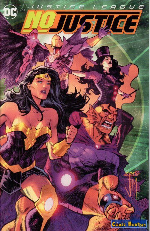 Justice League: Nr. 2: No Justice (Variant Cover-Edition)