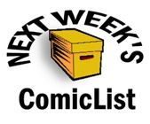 comicsnextweek2 Preliminary ComicList for 04/15/2009