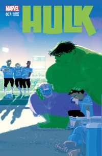 Hulk_7_Campion_STOMP_OUT_Variant ComicList: Marvel Comics New Releases for 10/15/2014