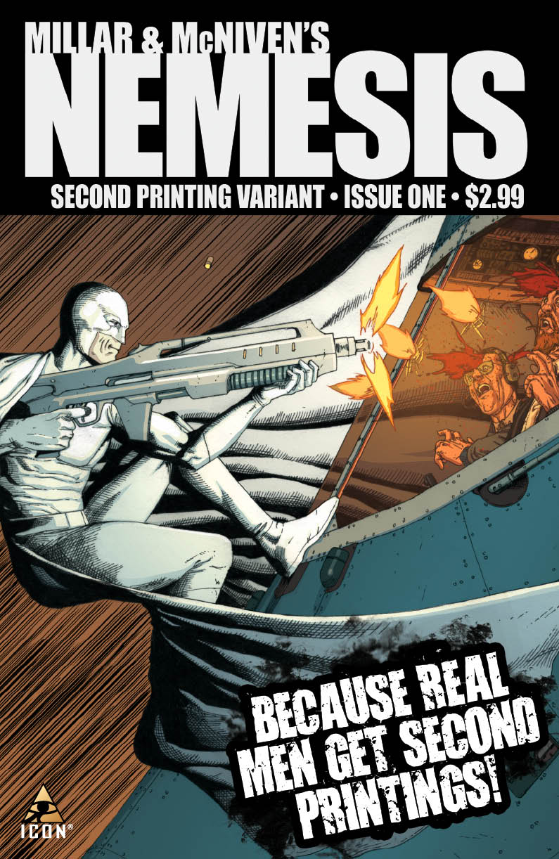 Nemesis_01_SecondPrintingCover Marvel Comics Extended Forecast for 04/07/2010