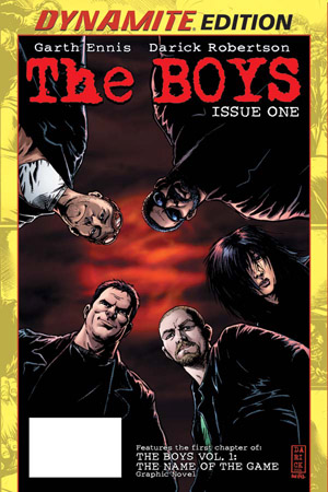 TNBoys01DynEditCover ComicList: Dynamite Entertainment for 10/28/2009