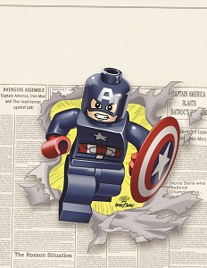 captainamerica12_lego ComicList: New Comic Book Releases List for 10/09/2013