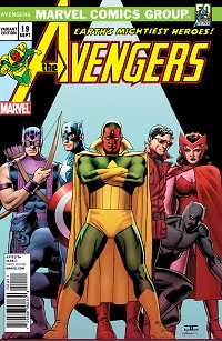 cassadayavengersdecades2 ComicList: Marvel Comics for 09/11/2013