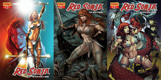redsonja48 ComicList: Dynamite Entertainment for 09/10/2009